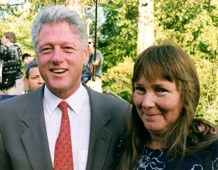 Clinton and Fran