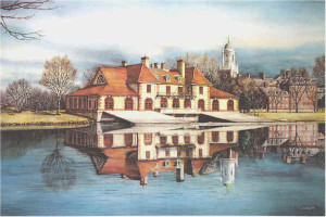 Harvards boathouse Santoleri University Prints