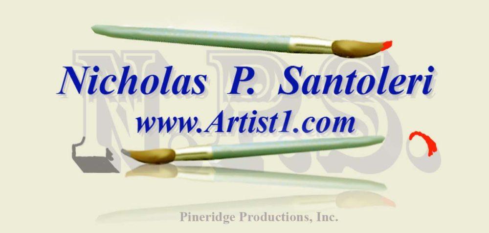 Nick Santoleri Artist Logo