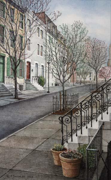 Saint James Street by N. Santoleri