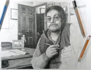 Self - Pencil by N. Santoleri