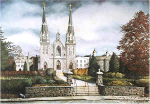 St. Thomas of Villanova Santoleri limited Edition Prints from Watercolor Painting