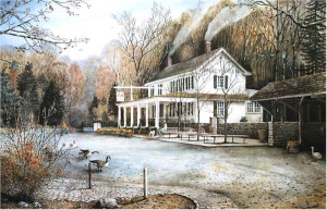 Valley Green Inn 2 Santoleri limited Edition Prints from Watercolor Painting