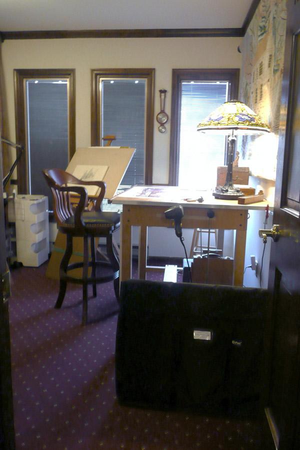 Santoleri art studio interior,