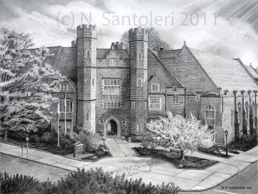 West Chester University by Santoleri