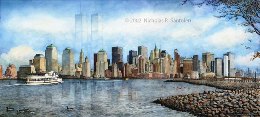 New York City Skyline by Nick Santoleri