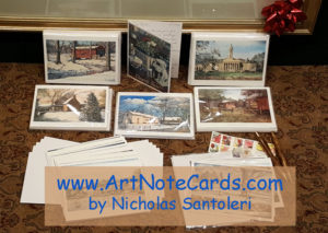 Art Note Cards by Santoleri