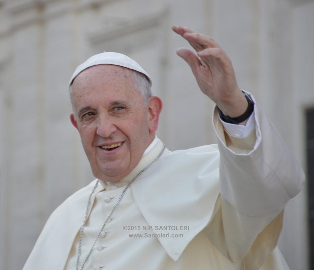 Pope Francis in Rome 01
