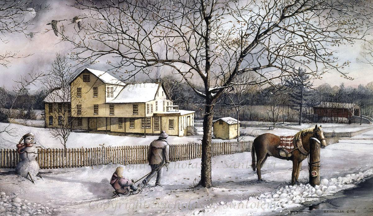 Snow Days by Nicholas Santoleri