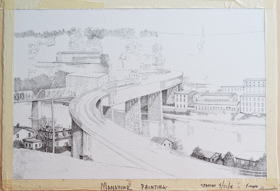 1 - S-Bridge to Manayunk in progress