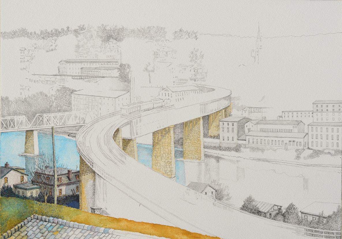 2 - S-Bridge to Manayunk in progress