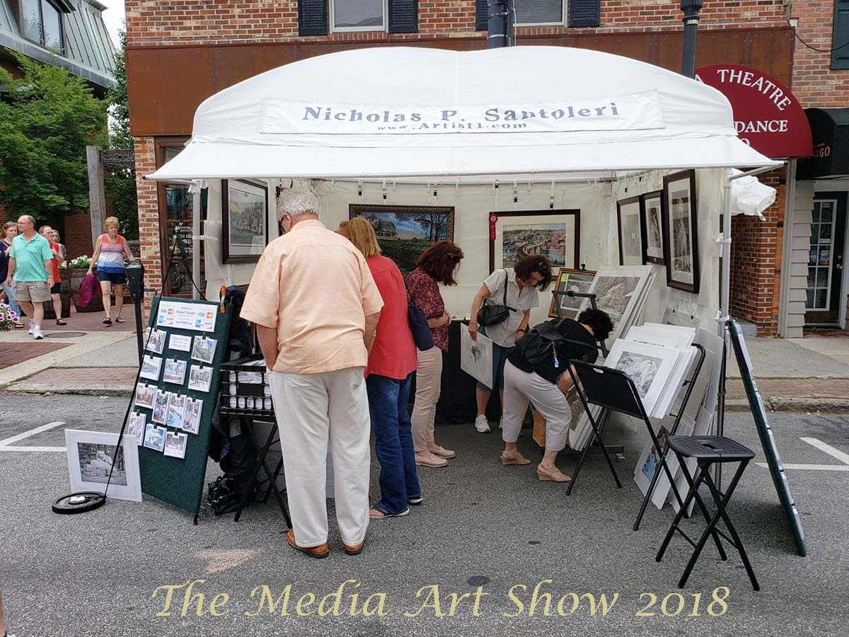 Santoleri at the Media Art Show 2018