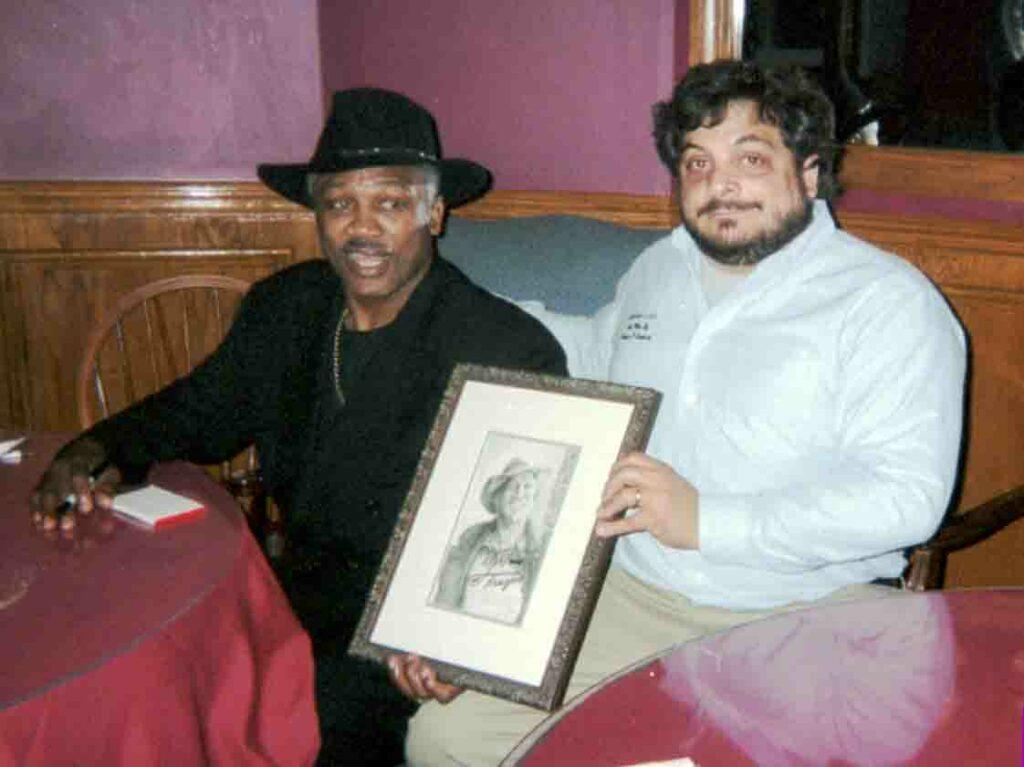 Joe Frazier and Nick Santoleri