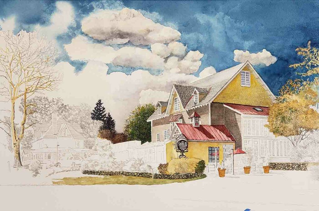 Painting in progress Gables 04 Max Compress